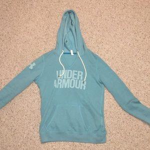 Blue Under Armour sweatshirt!